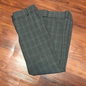 Ann Taylor LOFT Gray Plaid Pants. Petite Size 4P.